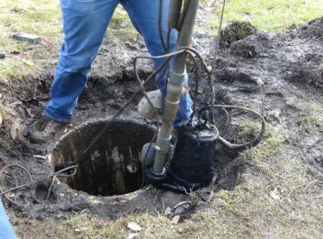 Sewage Pump - American Septic Tank Repair Team of Sugar Land